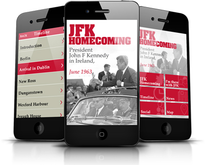 JFK Homecoming App