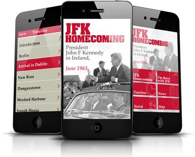 JFK Homecoming App