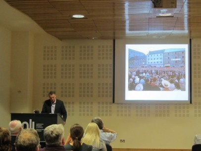 Mike Cronin Hosts Lecture on JFK Ireland Trip